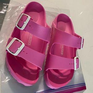 Birkenstock x JCrew pink sandal